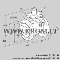 Safety shut-off valve JSAV 50F50/1-0 (03151134)