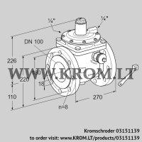 Safety shut-off valve JSAV 100F50/1-0Z (03151139)