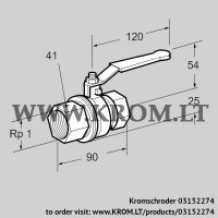 Manual valve AKT 25R50B (03152274)