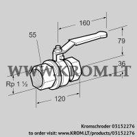Manual valve AKT 40R50B (03152276)