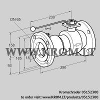 Manual valve AKT 65F50TAS (03152300)