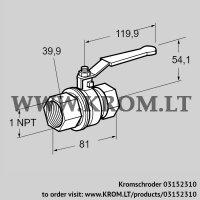 Manual valve AKT 25TN88 (03152310)