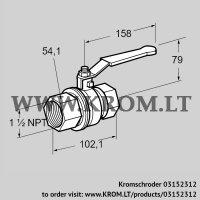 Manual valve AKT 40TN88 (03152312)