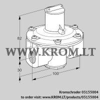 Pressure regulator J78R 0 (03155004)
