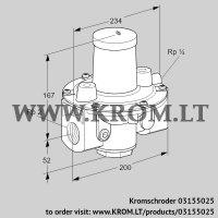 Pressure regulator GDJ 50R04-0 (03155025)