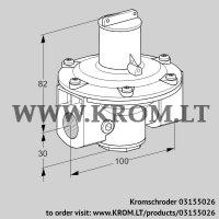 Pressure regulator J78R 1-L (03155026)
