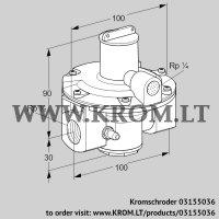 Pressure regulator GDJ 15R04-4 (03155036)
