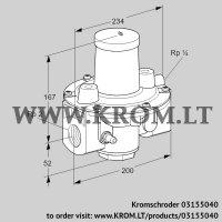 Pressure regulator GDJ 50R04-4 (03155040)