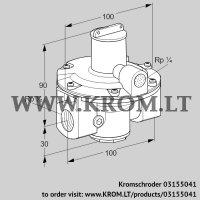 Pressure regulator GDJ 15R04-0Z (03155041)