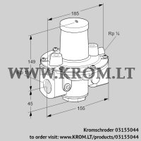 Pressure regulator GDJ 40R04-0Z (03155044)