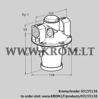 Air/gas ratio control GIK 25R02-5LB (03155138)