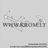 Stainless steel flexible tube ES 32RA500 (03263051)