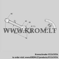 Stainless steel flexible tube ES 32RA1000 (03263056)