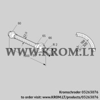Stainless steel flexible tube ES 50RA1000 (03263076)