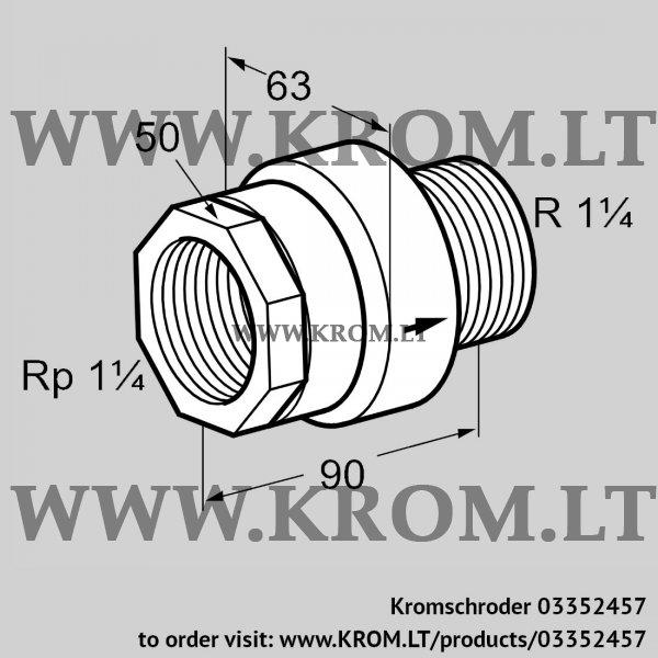 Kromschroder Thermal equipment trip TAS 32IA50, 03352457