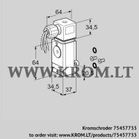 Pressure switch for gas DG 60VCT1-6W /B (75457733)
