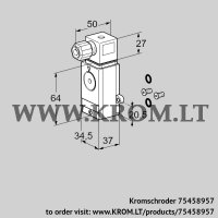 Pressure switch for gas DG 500VC1-6WG /B (75458957)