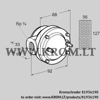 Gas filter GFK 20R10-6 (81936190)