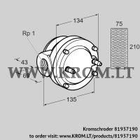 Gas filter GFK 25R10-6 (81937190)