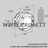 Gas filter GFK 25TN40-3 (81937500)