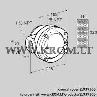 Gas filter GFK 40TN40-3 (81939500)