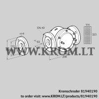 Gas filter GFK 40F10-6 (81940190)