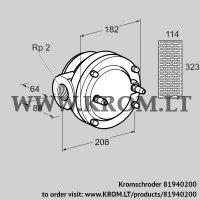 Gas filter GFK 50R40-6 (81940200)