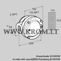 Gas filter GFK 50TN40-3 (81940500)