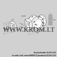 Gas filter GFK 50F60-6 (81941103)