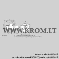 Burner for gas BIO 100HM-200/135-(67)E (84012025)