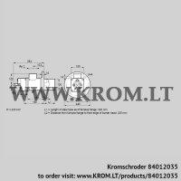 Burner for gas BIO 100HM-300/235-(67)E (84012035)