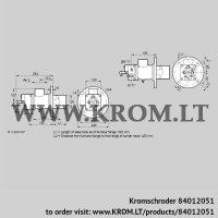 Burner for gas BIO 100HBL-500/435-(49)E (84012051)