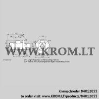 Burner for gas BIO 100HM-500/435-(67)E (84012055)