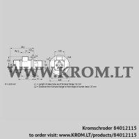 Burner for gas BIO 100KM-50/35-(84)E (84012115)