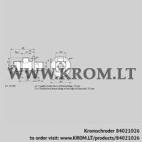Burner for gas BIO 80KB-150/135-(8)E (84021026)