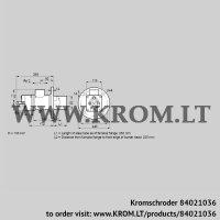 Burner for gas BIO 80KB-250/235-(8)E (84021036)