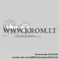 Burner for gas BIO 80KB-350/335-(8)E (84021046)