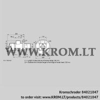 Burner for gas BIO 80RB-350/335-(6)E (84021047)