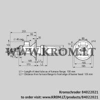 Burner for gas BICA 65RB-100/135-(37)D (84022021)