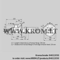 Burner for gas BICA 65HB-200/235-(34)D (84022030)