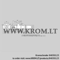 Burner for gas BIC 50RG-100/135-(40)D (84030123)
