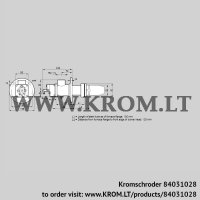 Burner for gas BIC 65RM-100/135-(71)E (84031028)