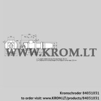 Burner for gas BIC 65RB-200/235-(37)E (84031031)