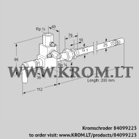 Pilot burner ZMI 25TG200N (84099223)