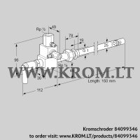 Pilot burner ZMI 25TG150N (84099346)