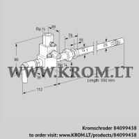 Pilot burner ZMI 25B550R (84099438)
