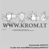 Burner for gas ZIO 200RBL-300/85-(25)DB (84099576)