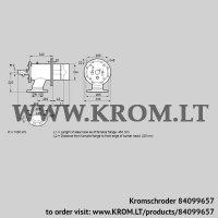 Burner for gas ZIO 200RB-450/235-(20)DB (84099657)