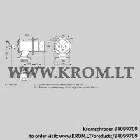 Burner for gas ZIO 200RB-650/635-(20)D (84099709)