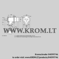 Burner for gas ZIO 165RBZ-100/85-(38)D (84099746)